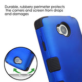 For LG Transpyre Rugged Hybrid TUFF Impact Cover Protector Case