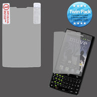 2x LCD Screen Cover Protector Film with Cloth Wipe for HUAWEI M660 (Ascend Q)