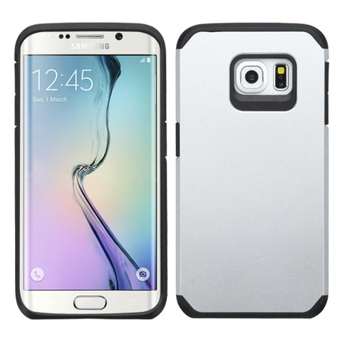 For G925 Galaxy S6 Edge Silver/Black Astronoot Phone Protector Cover