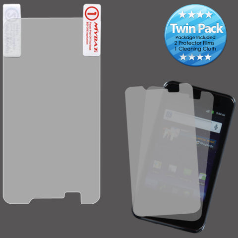 2x LCD Screen Cover Protector Film with Cloth Wipe for HUAWEI M920 Activa 4G