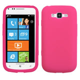 Solid Silicone Skin Cover Case for Samsung Focus 2 i667