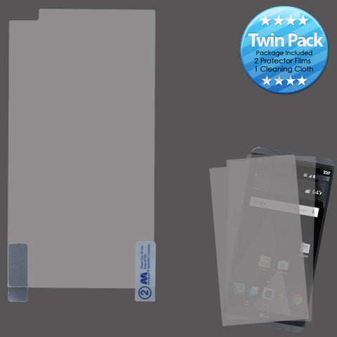 For LG V20 Clear LCD Screen Protector Film Cover Guard Twin Pack