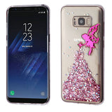For Samsung Galaxy S8 Plus Glitter Krystal Gel Series Slim Candy Skin Cover Case