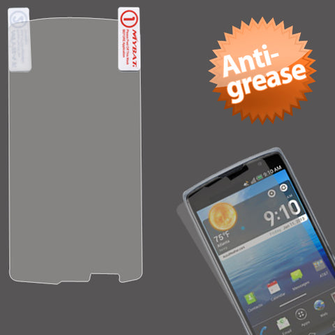 Clear Anti-grease LCD Screen Protector Cover for PANTECH: P9090 (Discover)