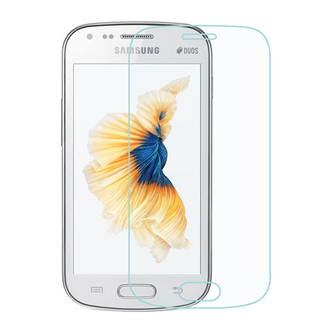 For Samsung Galaxy S Duos s7562 Clear Tempered Glass Protector Screen Guard