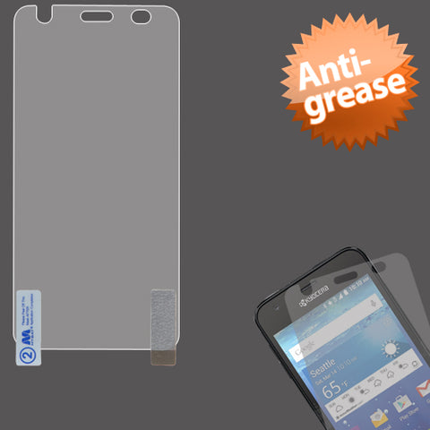 For C6740 Wave Anti-grease LCD Screen Protector Cover Film - Clear