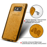 For Samsung Galaxy S8 Plus Sheer Glitter Premium Protective Candy Skin Cover