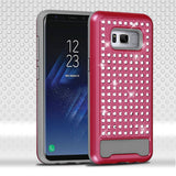 For Samsung Galaxy S8 Plus Diamante FullStar Shockproof Protector Case Cover