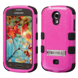 For Galaxy Galaxy Light Rugged Hybrid TUFF Impact Cover Case +Built-In Stand