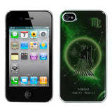 For iPhone 4s/4 Virgo Horoscope Collection Dream Back Protector Cover
