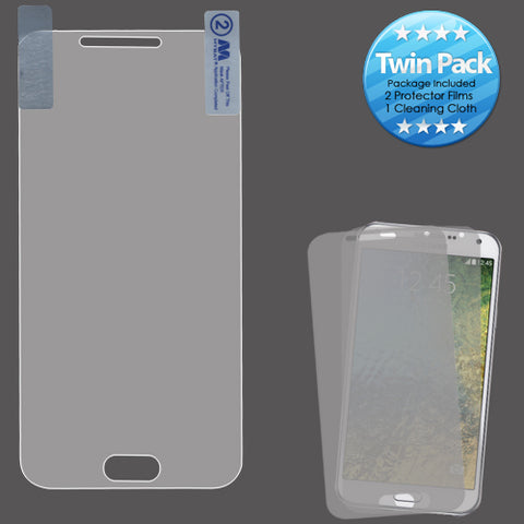 For Samsung Galaxy E5 (S978L) Clear Screen Protector Film Cover Twin Pack