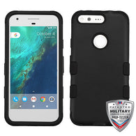 "For Google Pixel (5.0"") TUFF Dual Layer Hybrid Phone Protector Cover"