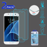 For Samsung Galaxy S7 Tempered Glass Screen Protector Film Cover (2.5D) 2 Pack