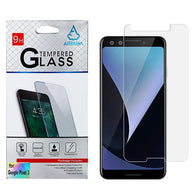 For Google Pixel 3 Tempered Glass Screen Protector Impact Shield Cover (2.5D)