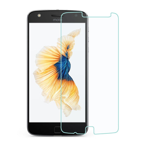 For Motorola Moto Z Play Clear Tempered Glass Full Screen Protector Film Guard