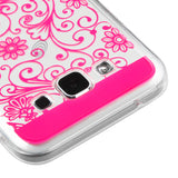 For Samsung Galaxy E5 Four-leaf Clover Protective Armor Candy Skin Cover Case