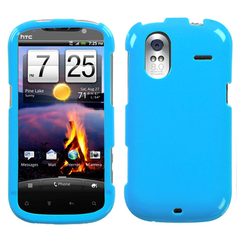 For Amaze 4G Natural Turquoise Hard Snap On Phone Protector Cover Case