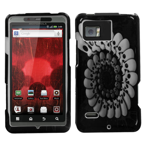 For XT875 Droid Bionic Round Skull Hard Snap On Phone Protector Cover Case