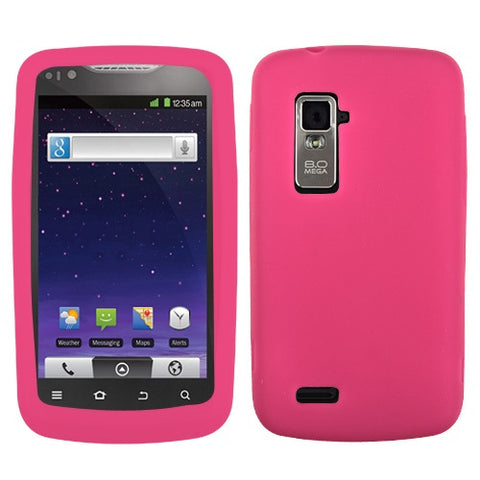 Solid Silicone Skin Cover Case for ZTE Anthem 4G N910