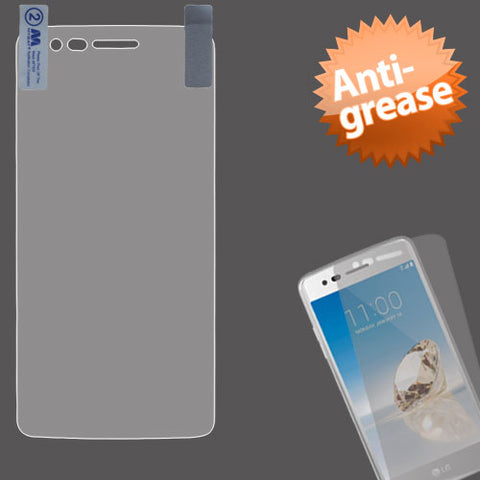 For LG K4 / Fortune / K8 Anti-Grease LCD Ultra Thin Screen Protector Strong