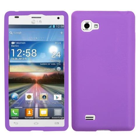 Solid Silicone Skin Cover Case for LG Optmis 4X HD P880