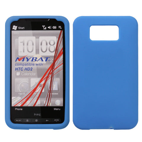 Solid Silicone Skin Cover Case for HTC HD2