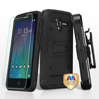 For Alcatel Tru / Stellar 3-in-1 Kinetic Hybrid Protector Cover Holster Combo