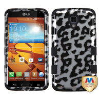 2D Design Case +Silicone Protector TUFF Cover for LG LS740 Volt