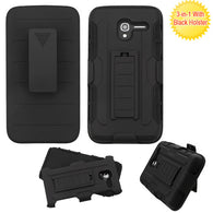 For Alcatel Tru/Stellar Advanced Armor Stand Protector Cover Case w/Holster