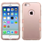 "For iPhone 6 4.7"" Rugged TUFF Cover Hybrid Case + Shock Absorbent Corners"