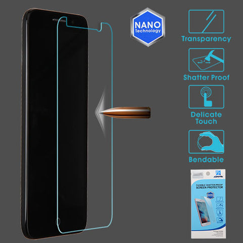 For Alcatel 5065 Tru/Stellar Clear Flexible Shatterproof Screen Cover Protector