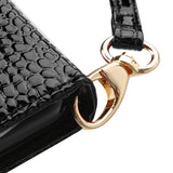 For Samsung Galaxy S8 Crocodile-Embossed Leather MyJacket Flip Wallet Case Cover