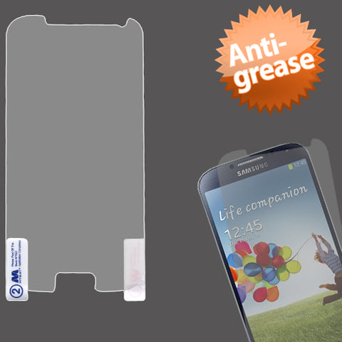 Clear Anti-grease LCD Screen Protector Cover Film for Samsung Galaxy S 4 IV