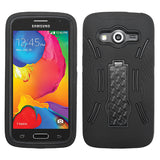 For Samsung Galaxy Avant Impact Case +Rugged Silicone Case Cover +Stand