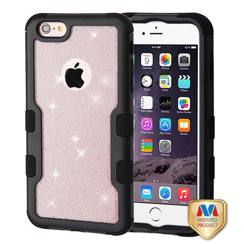 For iPhone 6 Plus/6s Plus Full Glitter TUFF Vivid Hybrid Protector Case Cover