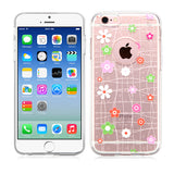 For iPhone 6s/6 Tiny Blossoms Glassy SPOTS Premium Candy Skin Cover with Package