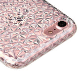 For iPhone 7 / 8 Transparent Diamond Protective Phone Candy Skin Shell Cover
