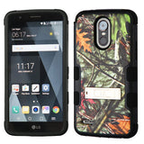 For LG Stylo 3/Plus Oak Leaves Camouflage/Black TUFF Hybrid Phone Protector Case