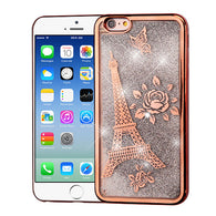 Rose Gold Eiffel Tower/Silver