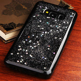 For Samsung Galaxy S8 Silver Starry Sky Krystal Gel Series Candy Skin Case Cover