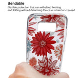 For Samsung Galaxy S8 Spring Daisies Glassy SPOTS Premium Candy Skin Case Cover