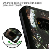 For Samsung Galaxy S8 English Oak Camouflage/Black TUFF Hybrid Protector Cover