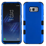 For Samsung Galaxy S8 Titanium Dark Blue/Black TUFF Hybrid Phone Protector Cover
