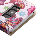 For Samsung Galaxy S8 Butterfly Wonderland MyJacket Wallet Case w/ Diamante Belt