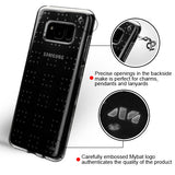 For Samsung Galaxy S8 Plus Glassy Transparent Clear SPOTS Candy Skin Case Cover