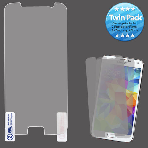 For Samsung Galaxy S6 2x LCD Screen Cover Protector Film with Cloth Wipe