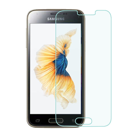 For Samsung Galaxy S5 Mini Clear Tempered Glass Full Screen Protector Guard