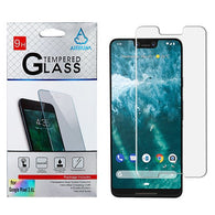 For Google Pixel 3 XL Tempered Glass Screen Protector Impact Shield Cover (2.5D)
