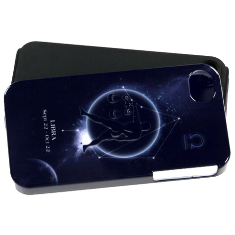 For iPhone 4s/4 Libra Horoscope Collection Fusion Protector Cover