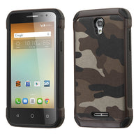 Camouflage Gray Backing/Black